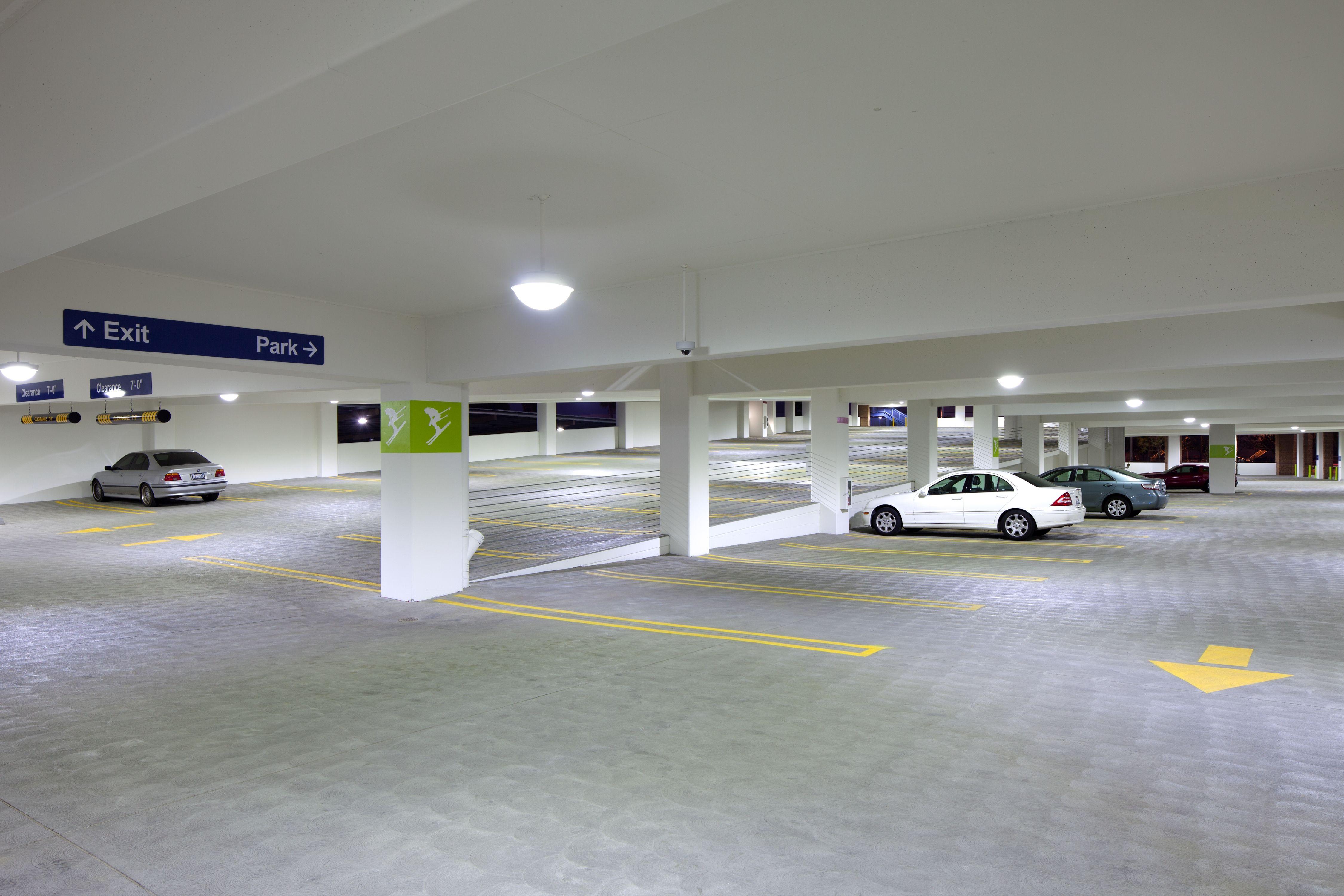 Parking garage interior design images for Hotel parking design