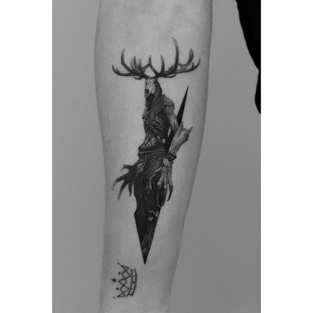 Prism Warsaw Leshen The Witcher Witcher Tattoo Body Art Tattoos Geek Tattoo