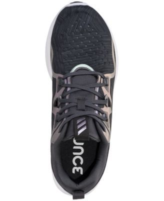 34285369e adidas Women s Edge Bounce Running Sneakers from Finish Line - Gray ...