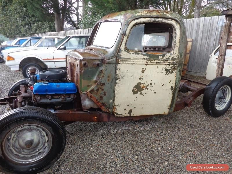 FORD 1940 PICK UP ON 1936 CHASSIS FE BIG BLOCK SUIT HOT ROD RAT ...