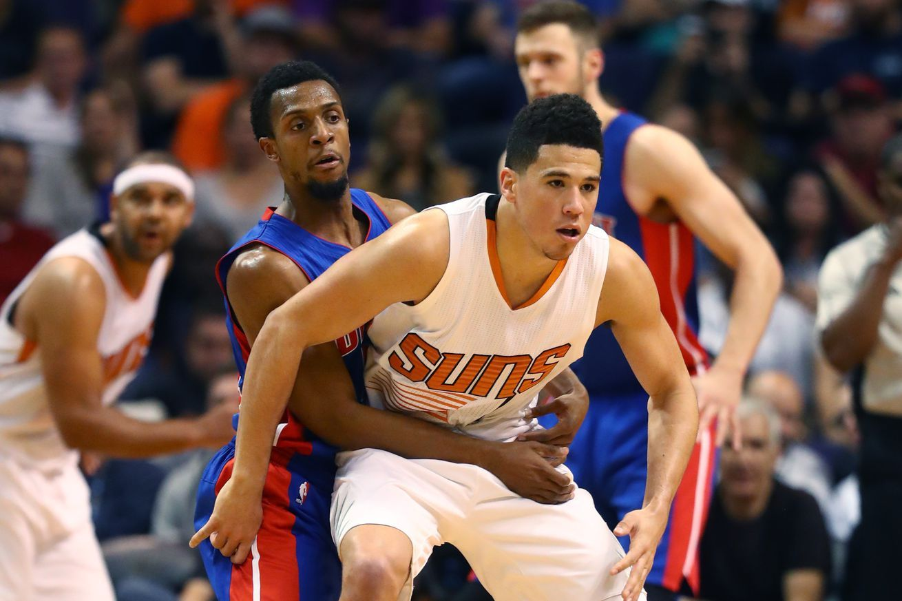 Pistons vs. Suns preview Limiting Devin Booker's looks is