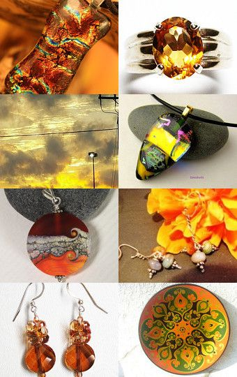 FIRE ON THE MOUNTAIN by tornpaperco on Etsy--Pinned with TreasuryPin.com