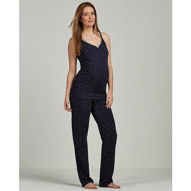Nette Zwangerschapskleding.Positie Pyjamabroek Mode Voor Bijna Mama S Jumpsuit Dillards