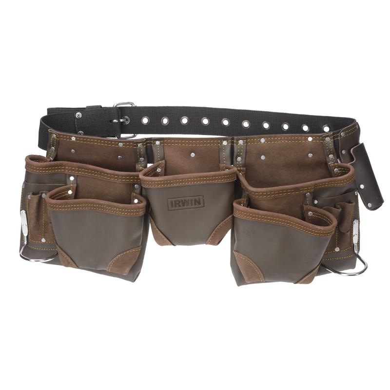 Irwin 11 Pocket Split Leather Tool Belt Leather Tool Belt Leather Tool Belt