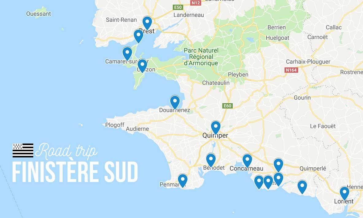 Road Trip En Bretagne 4 Jours Dans Le Finistere Sud Itineraire