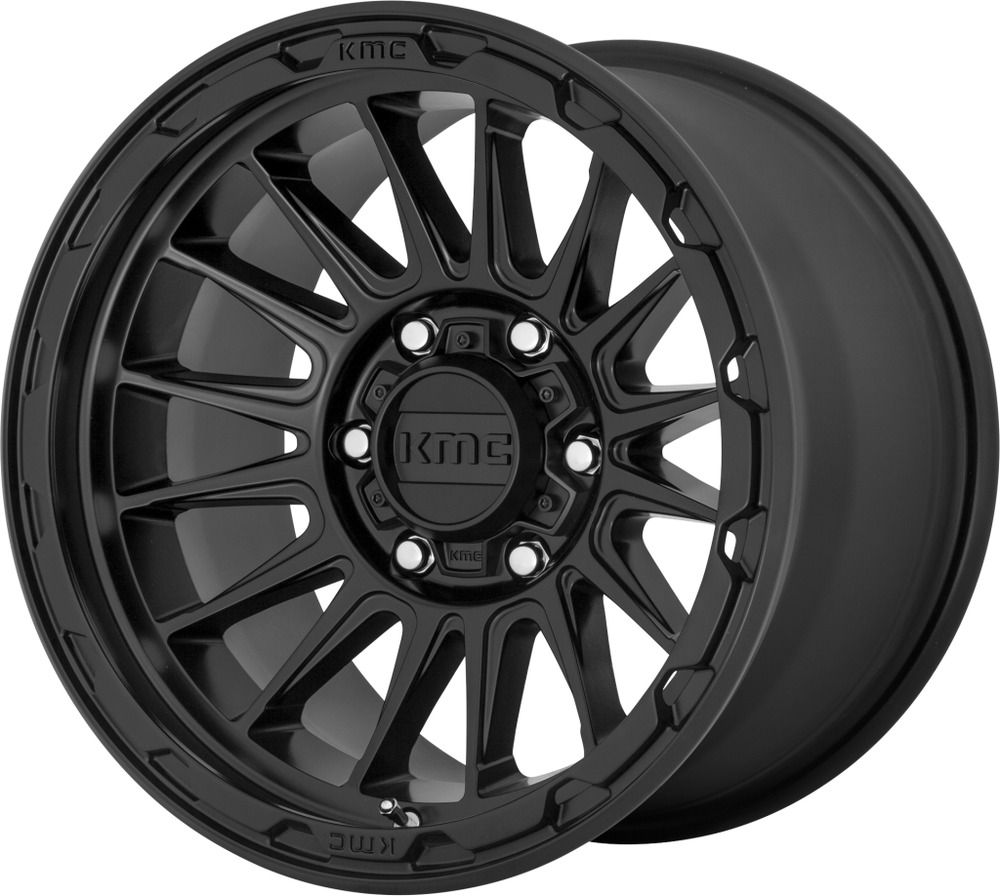 16 Kmc Km542 Impact 16x8 Satin Black 6x5 5 Truck Wheel 0mm 6 Lug Rim Ebay In 2020 Wheel Rims Black Wheels Truck Wheels
