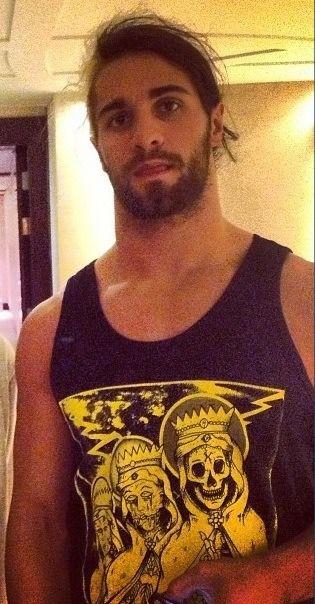 Seth Rollins, heehee he so cute