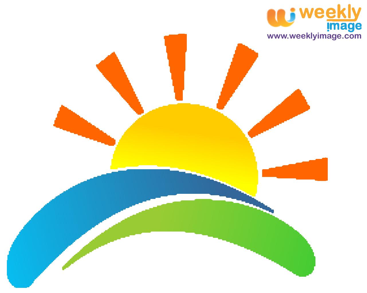 Sunrise Vector Logo Power Logo Sun Logo Sunrise Logo