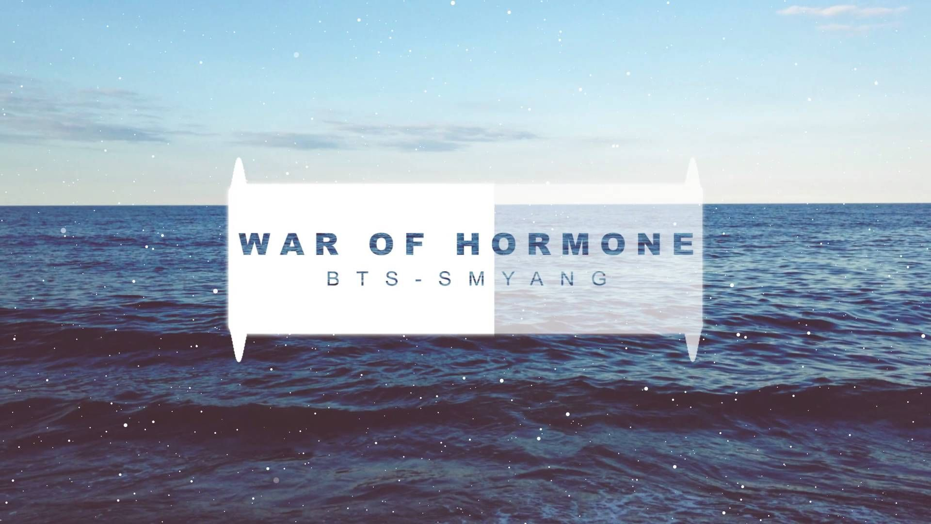 BTS (방탄소년단) - War of Hormone (호르몬 전쟁) - Piano Cover