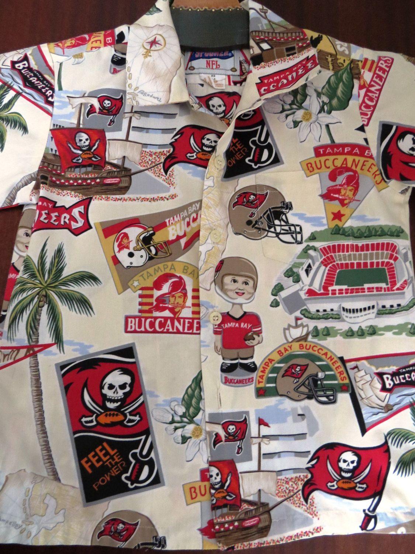 Vintage Boys Tampa Bay Buccaneers Shirt by Reyn Spooner NFL - Size 4-6 -  Football - Hawaiian Aloha Shirt - Pirates Helmets Alligators by  shabbyshopgirls on ... 3eca62f33