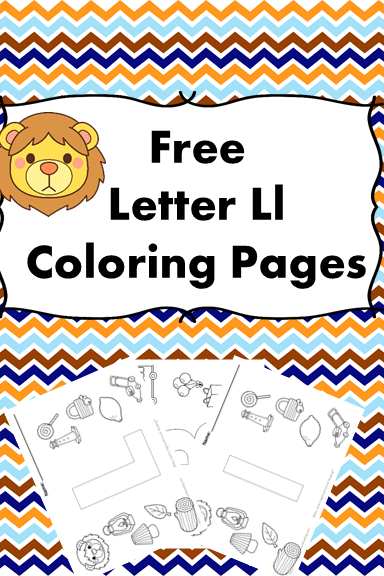 Preschool Or Kindergarten Activity Letter L Coloring Pages Free If You Prefer Just Get A Of The Entire Alphabet For