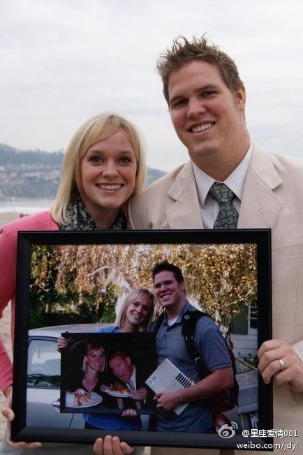 Picture within a picture anniversary photo tradition