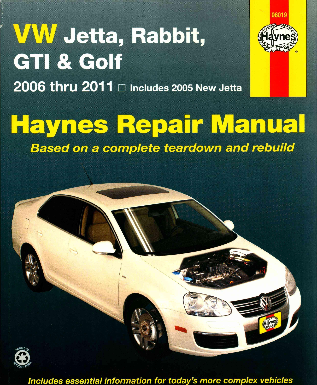 Vw Jetta, Rabbit, Gti & Golf: 2006 Thru 2011 - Includes 2005 New