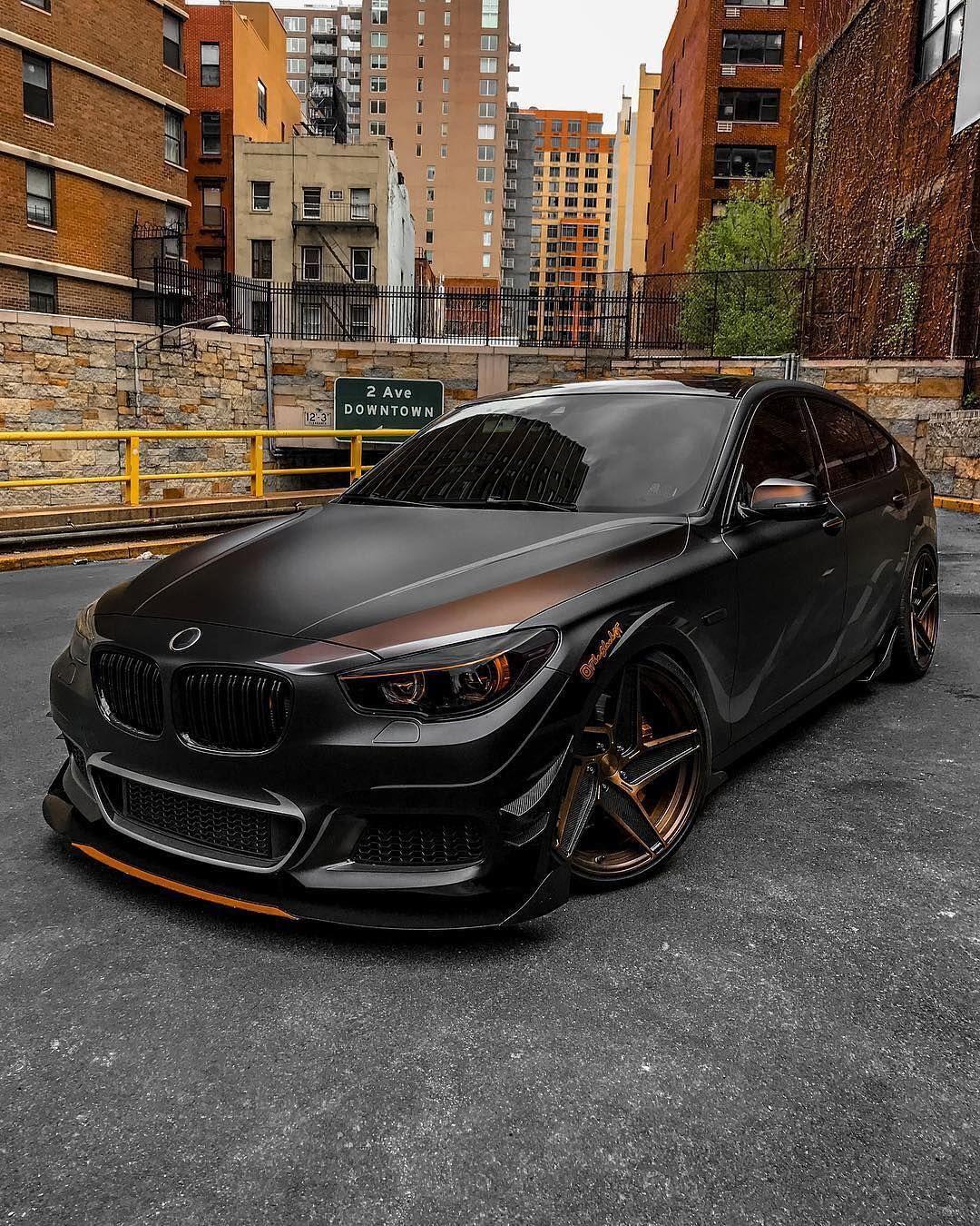 Bmw F07 5 Series Gt Black Bmw Bmw Black Top Luxury Cars