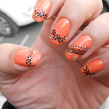 how to apply nail extensions perfectly  with steps and