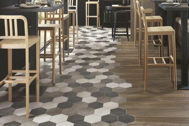 Carrelage Hexagonal Tendance Idees De Couleurs Et Designs Avec