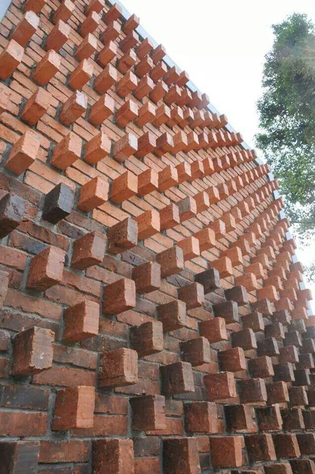 Ladrillo ladrillo architecture brique brique y ma onnerie for Revestimiento de ladrillo decorativo