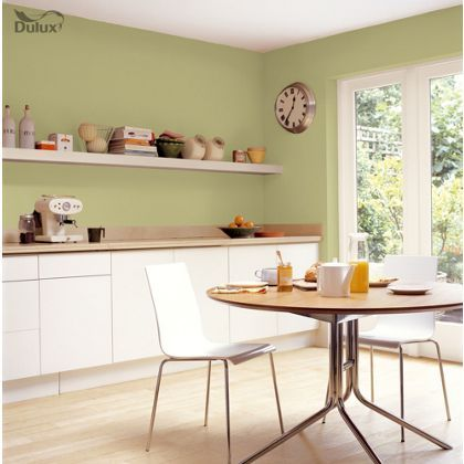 Melon Sorbet Kitchen Paint