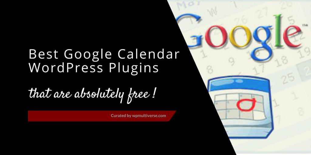 WordPress Google Calendar