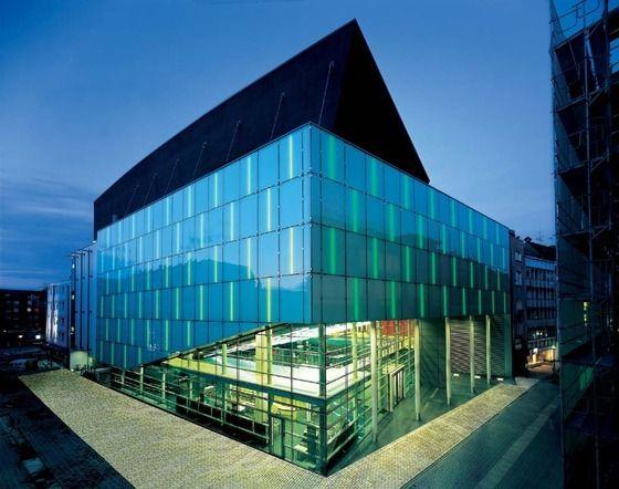 Konzerthaus Dortmund Exterior Design Composition