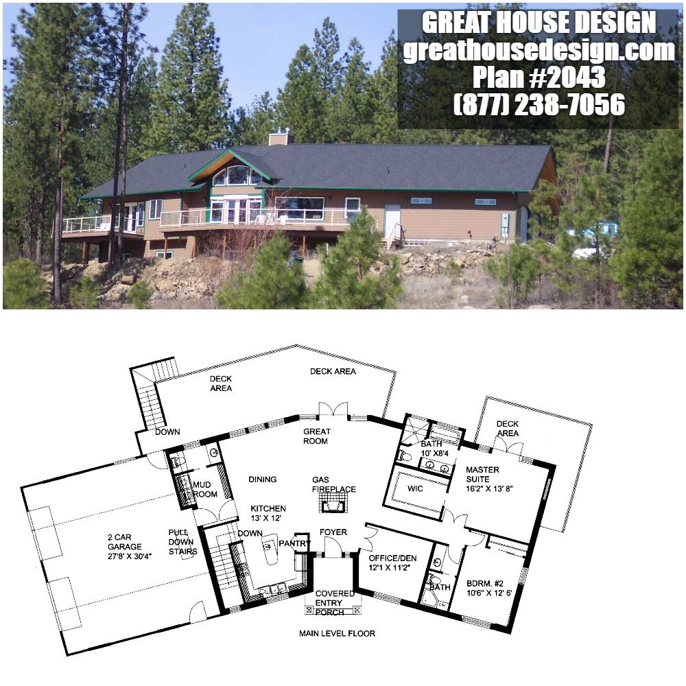Home Plan 001 2043 Home Plan Great House Design Mountain House Plans House Plans House Design