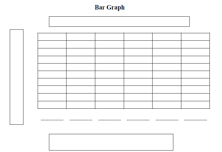 Printable Bar Charts    Free Printables Worksheets Kids