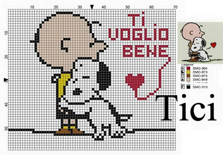 Pin by Patty North Taylor on Snoopy | Punto de cruz, Punto, Bordados ...