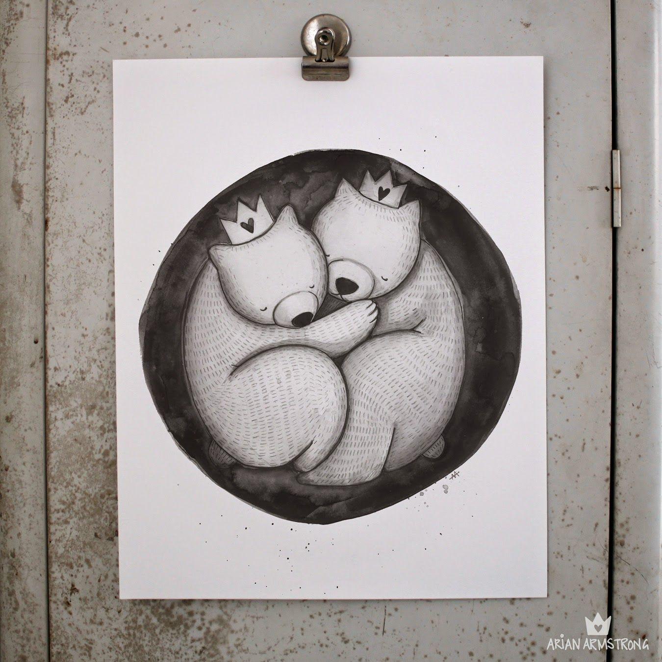 The Bears print :: Arian Armstrong