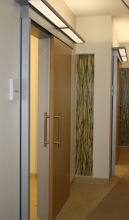 Endo Room Design: Sliding Barn Door For Medical Offices And Meeting Rooms