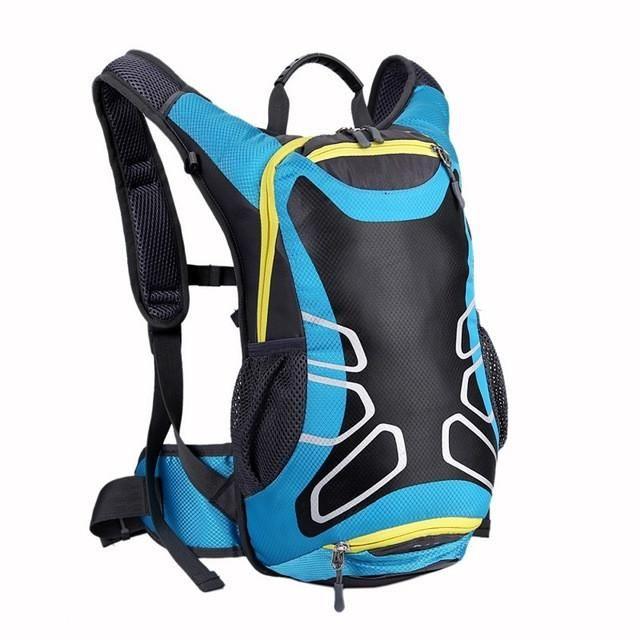15L Unisex Waterproof Nylon Cycling Bag Road Mountain Bike Sport Running Backpack  Outdoor Hiking Sports Backpacks Large Capacity 1e0878c8bf915