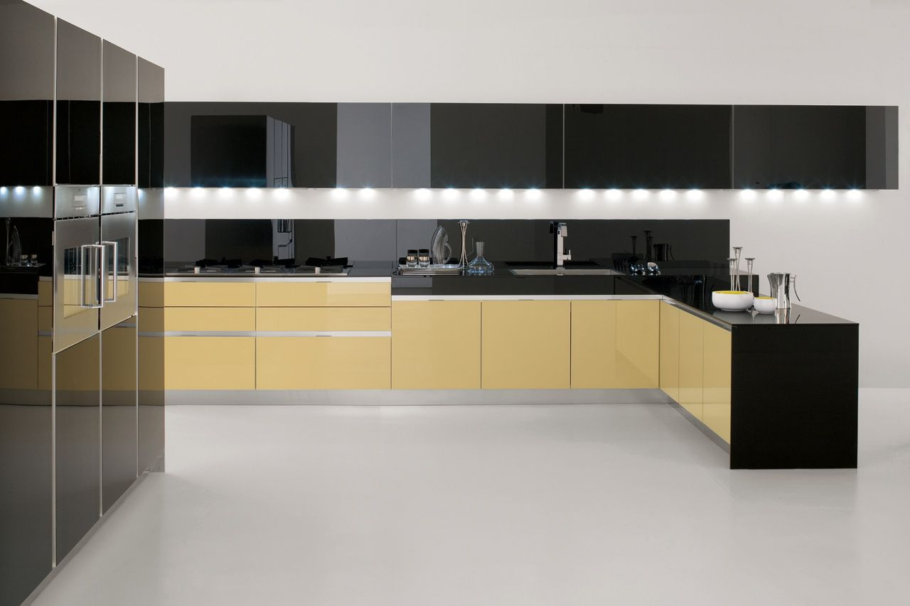 Cucina ergonomica Velvet Neck   GeD Cucine   for home design jnt ...