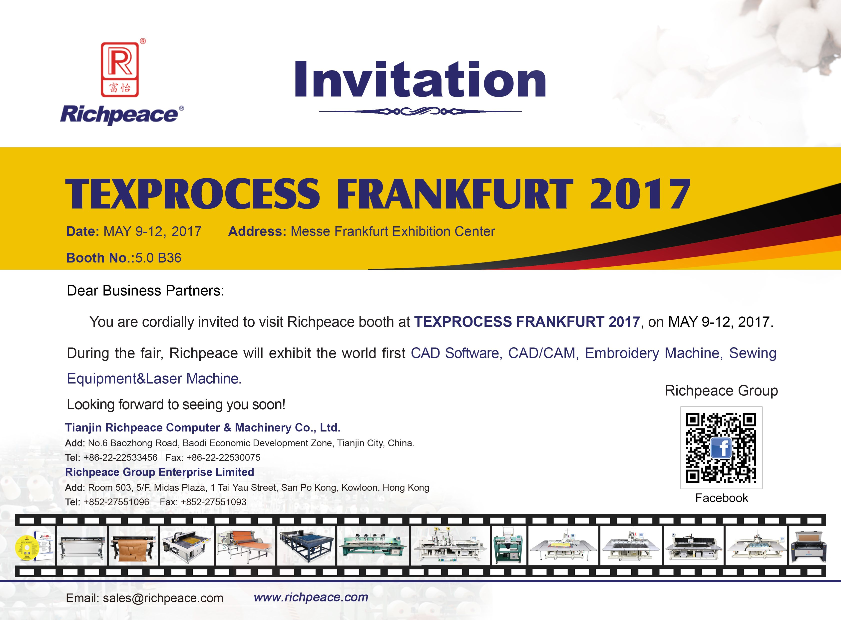 Hello everyone richpeace sincerely invites you attend the frankfurt date may 2017 address messe frankfurt exhibition center booth if you will come pls leave your message we will send you invitation letter stopboris Choice Image