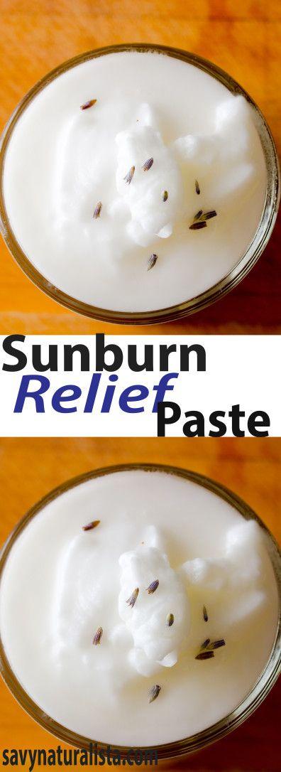 Sunburn Relief Paste