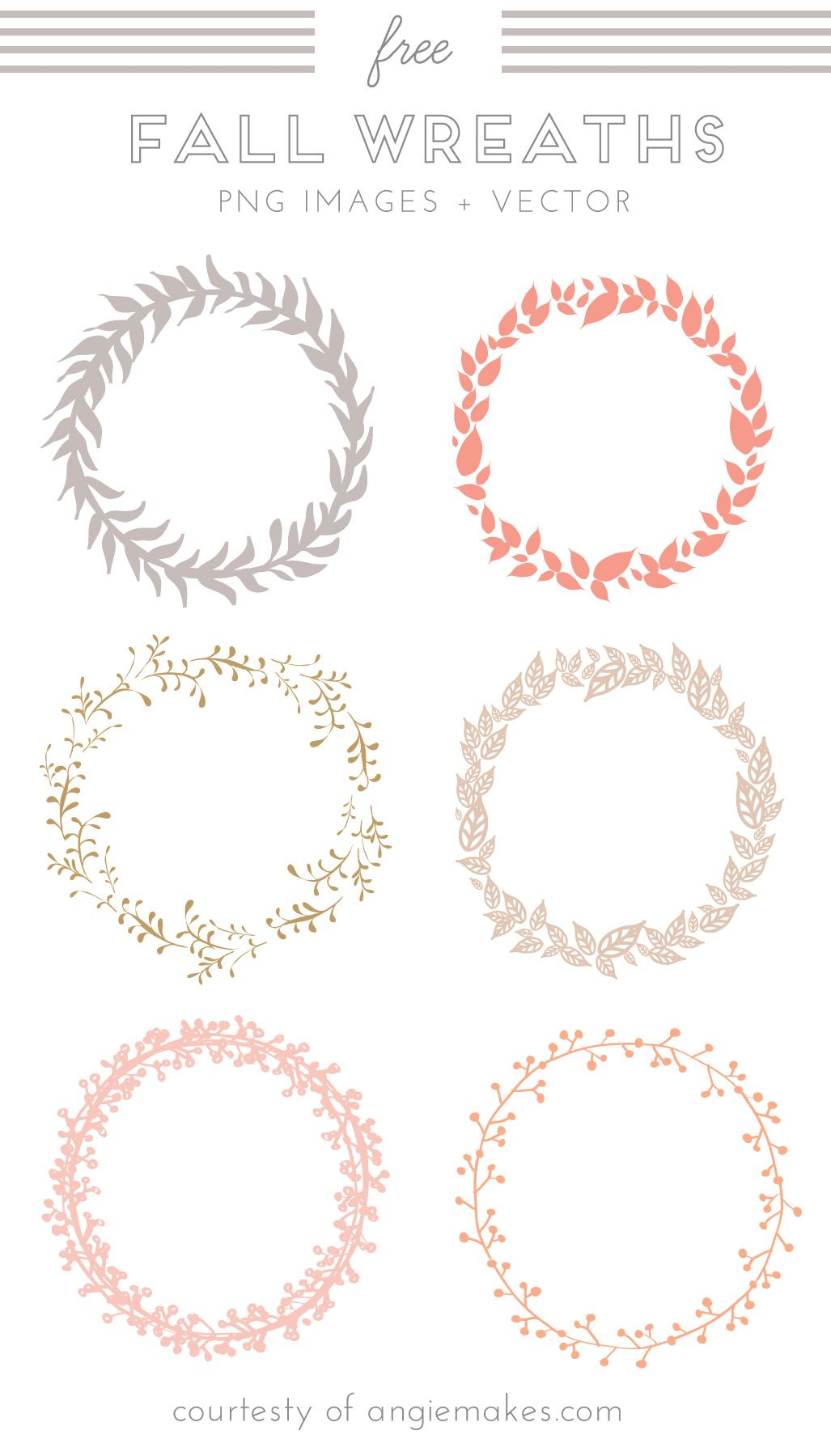 Free Wreath Clip Art Clip Art Free Graphics Printables