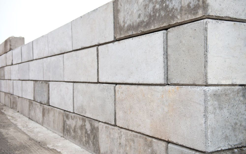 Interlocking Lego Concrete Blocks 1800mm X 600mm X 600mm Concrete Blocks Concrete Building Materials
