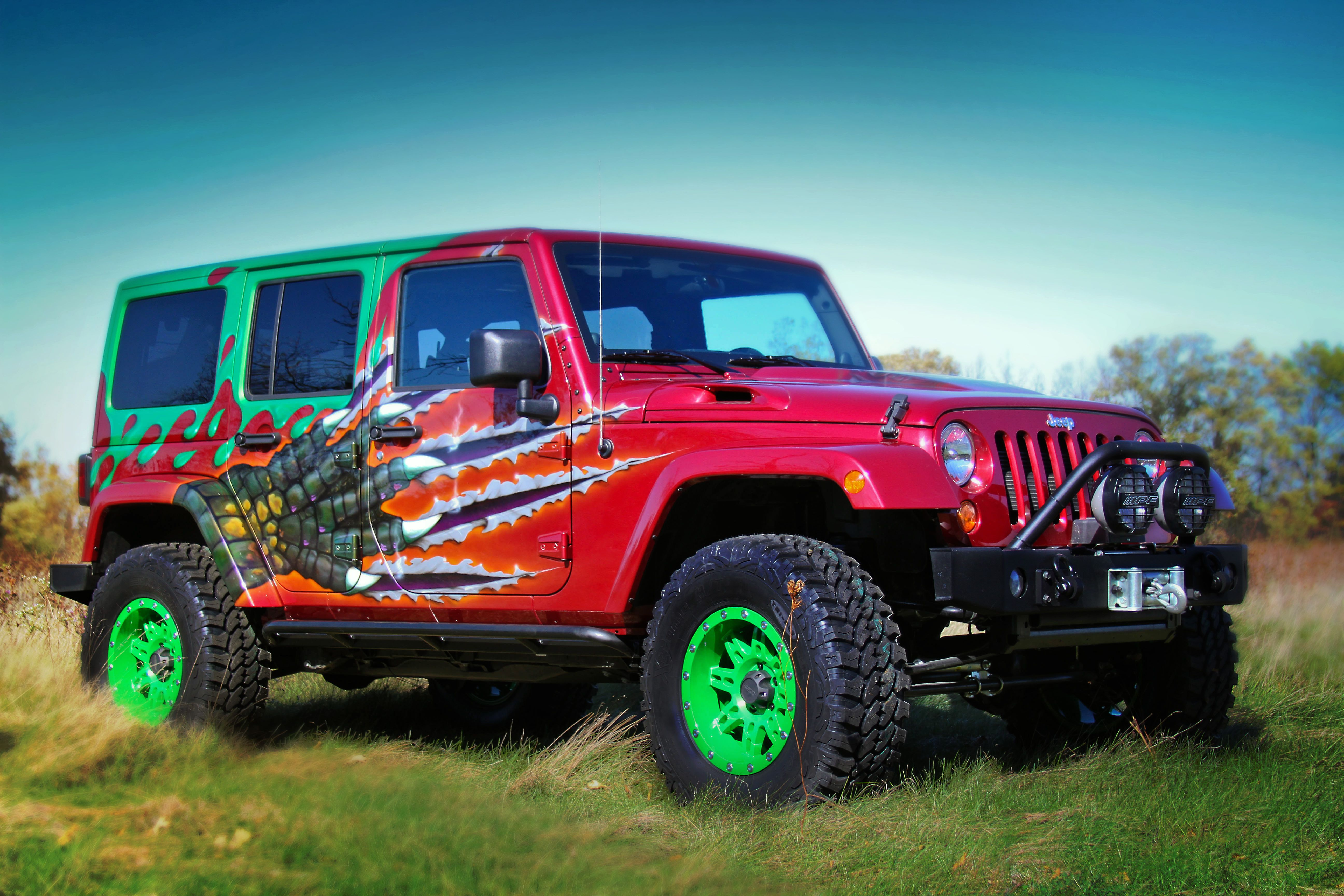 Cool Jeep Paint Jobs Wallpaper Design Gallery Jeep Game On Point