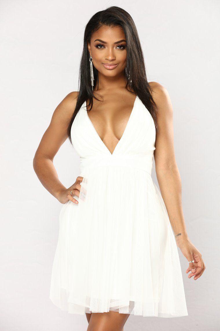 Marie Tulle Dress White Dresses, White dress, Tulle dress