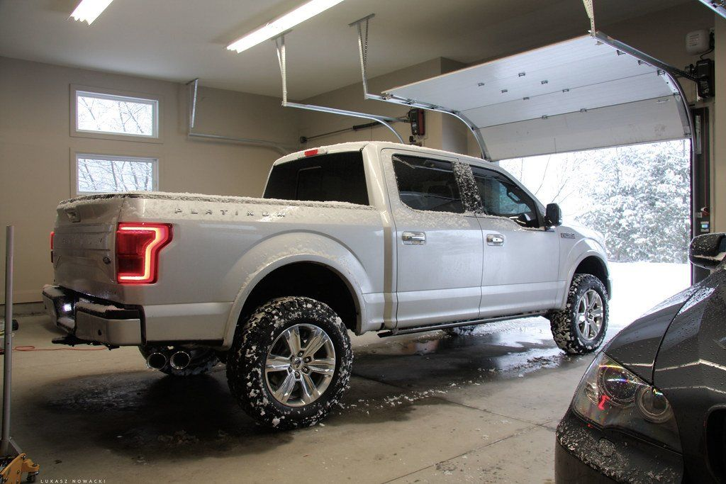 "2015 F150 Platinum with 2"" Leveling Kit, 3"" Rear Block"