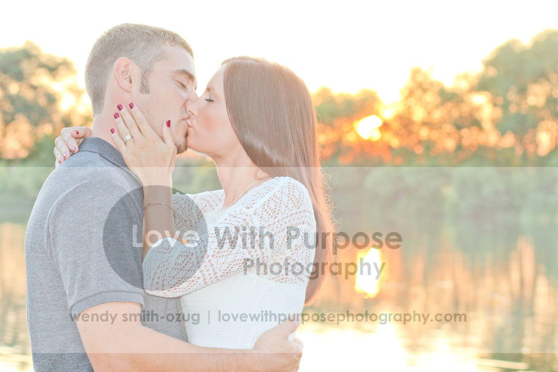 Engagement Photo Shoot - #rural #Farm #outdoors #sunset  www.lovewithpurposephotograhy.com