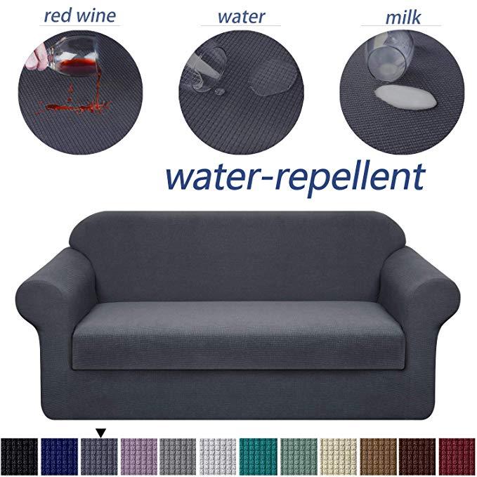 Amazon Com Granbest Premium Water Repellent Sofa Cover 2 Piece