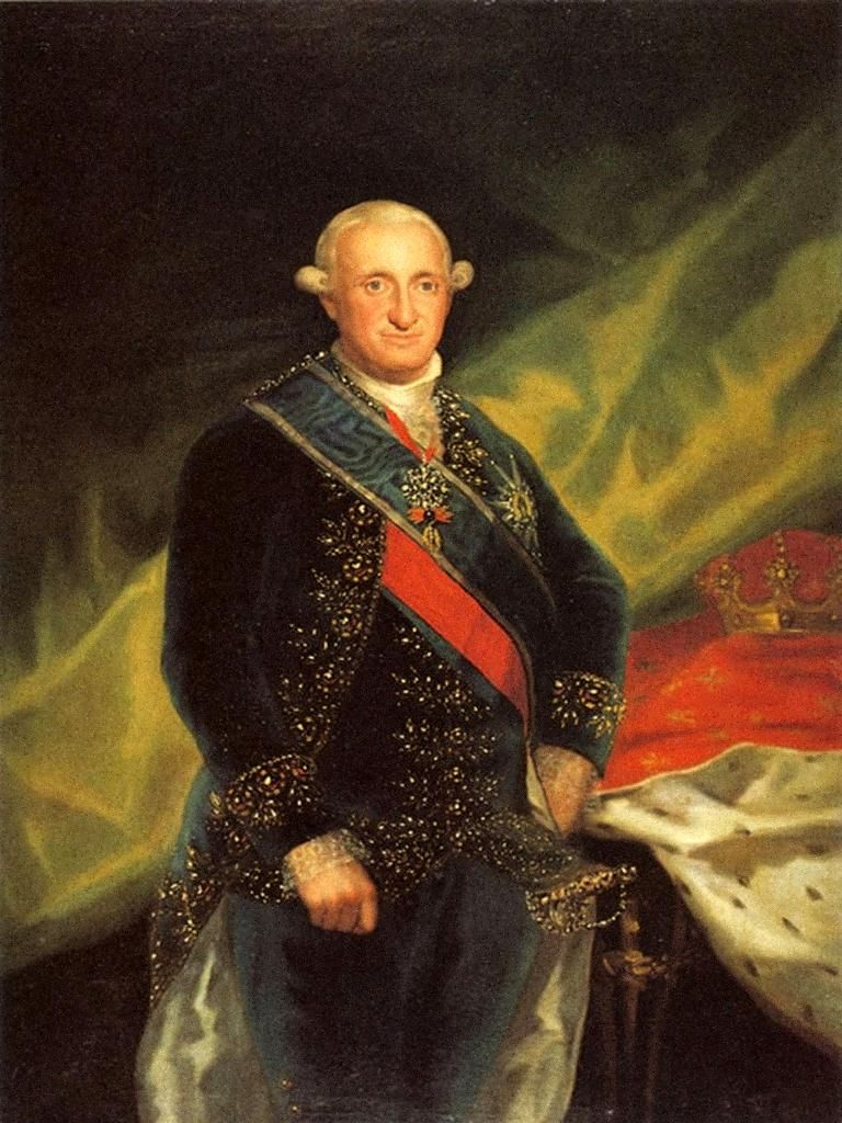 Goya Pintura Negra Family Photos Of The 1700s | Carlos Iv, King Of Spain, By