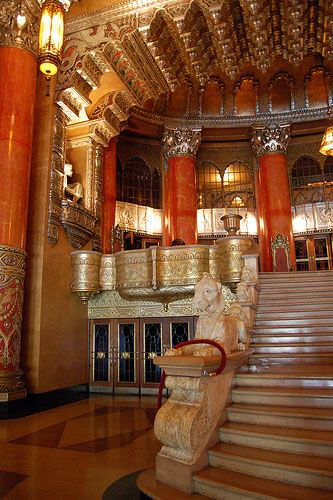 The Fox TheatreDetroit. One of the most amazing