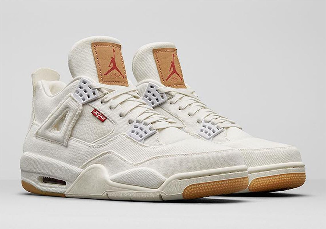 23f47ed5efe287 Jordan 4 Levis White Black Release Info  thatdope  sneakers  luxury  dope   fashion  trending