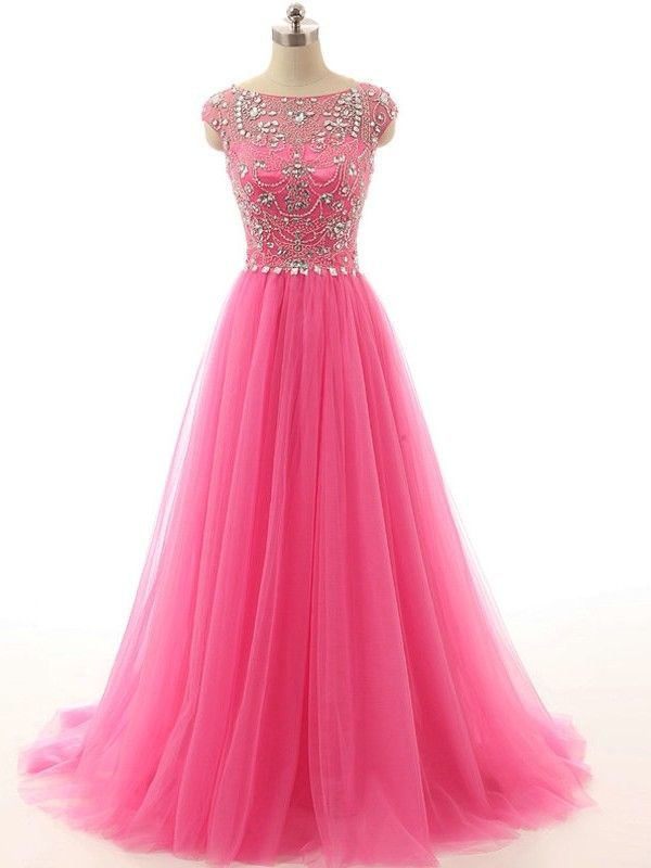 Vestido de Festa Rosa - Dressfashion   Gowns, Prom and Pink gowns