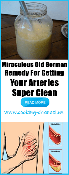 miraculous old german remedy for getting your arteries super clean rh ar pinterest com