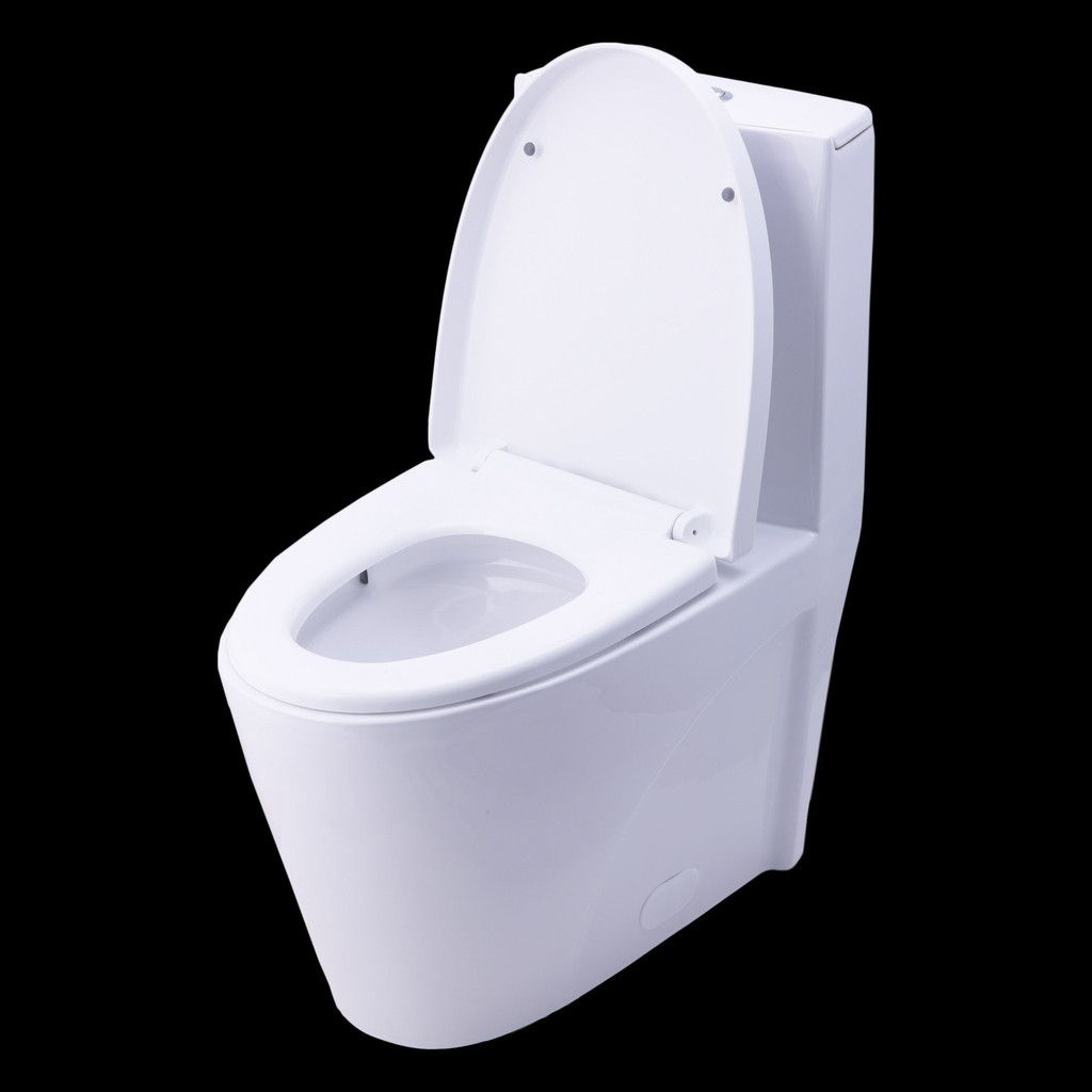Swell Bai 1009 Contemporary Toilet One Piece Dual Flush Soft Andrewgaddart Wooden Chair Designs For Living Room Andrewgaddartcom