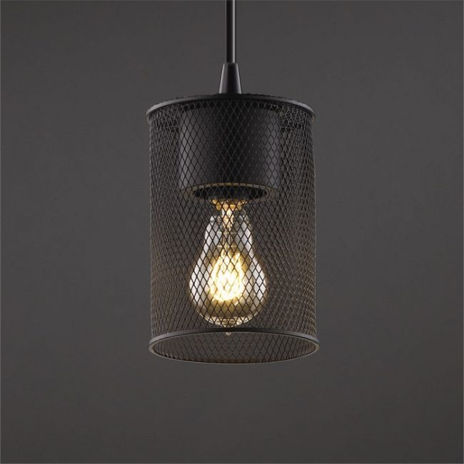 Best Wire Mesh Cylinder Pendant Justice Design At Lightology 400 x 300