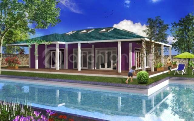 Maison du0027architecte plain pied de 76,68 m² Cette maison de plain