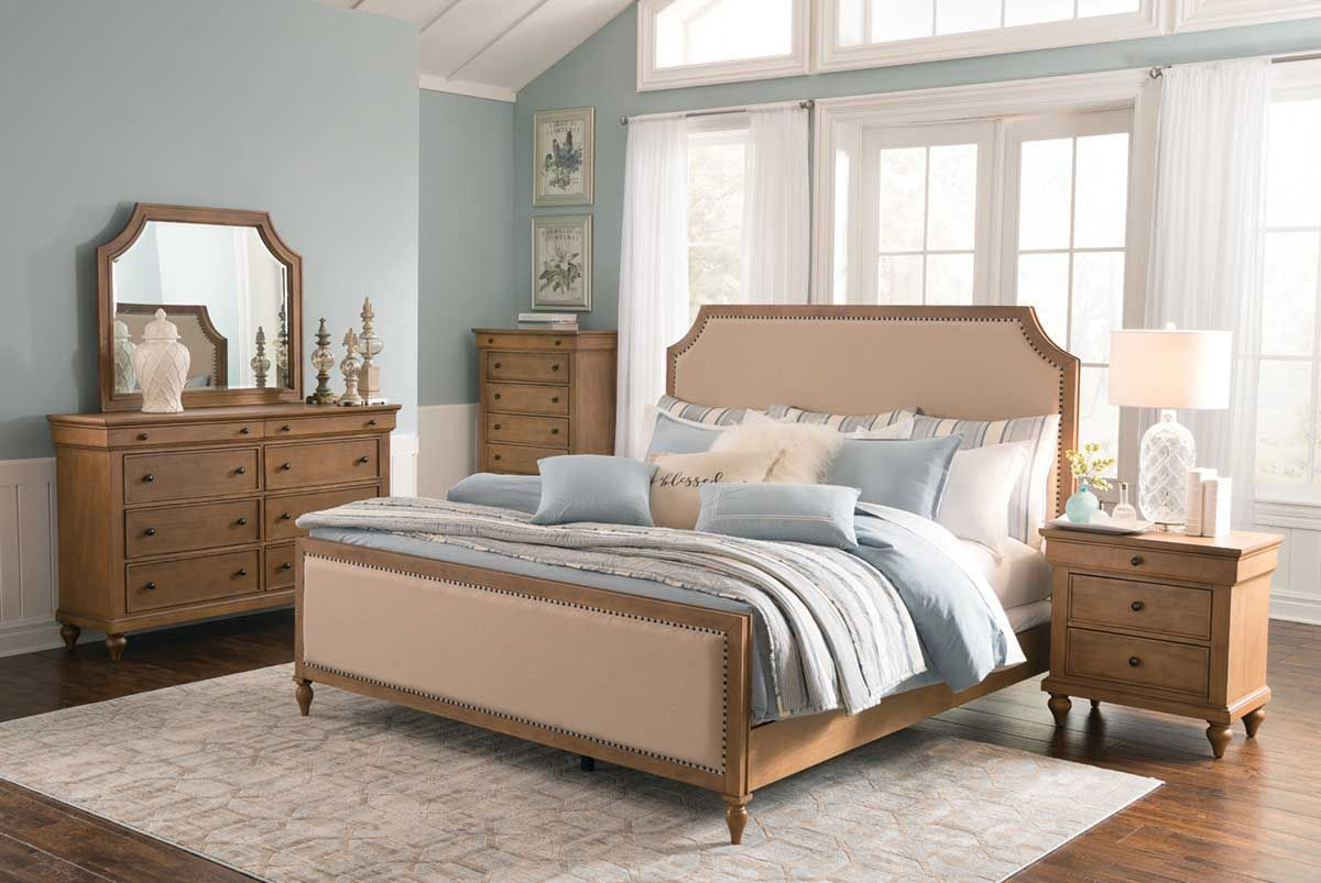 Elevate Your Bedroom Fashion And Doze Off In Style With The Shiloh Collection Queen Bed Constructed From Pine Solids Wood Bedroom Sets Furniture Bedroom Sets