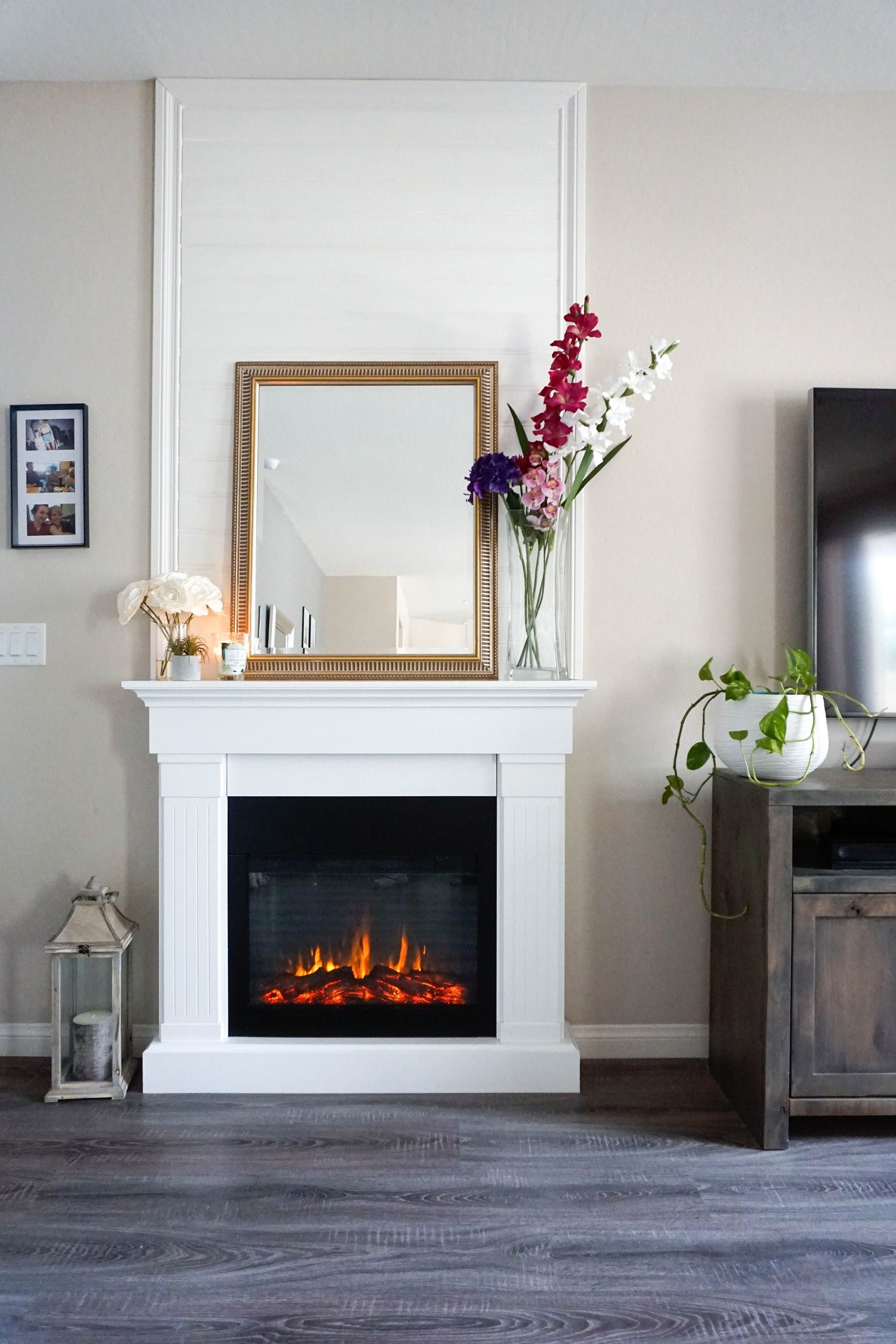 Add Height to your Fireplace with a DIY Overmantel | Electric ...